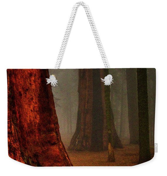 Sequoias In The Clouds Weekender Tote Bag