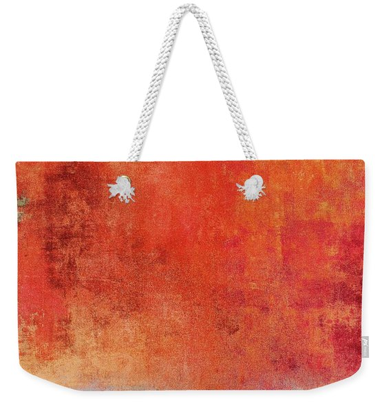 Weekender Tote Bag featuring the mixed media Ser. One #01 by Writermore Arts