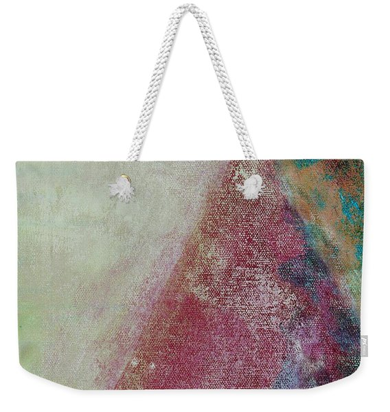 Weekender Tote Bag featuring the mixed media Ser.1 #08 by Writermore Arts