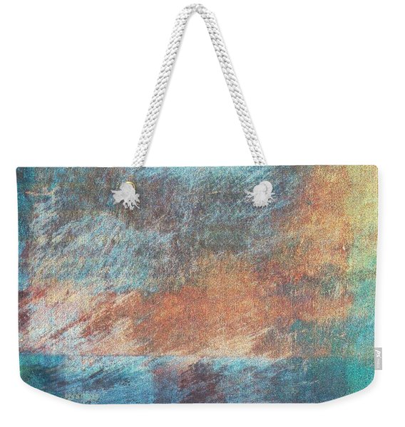 Weekender Tote Bag featuring the mixed media Ser.1 #09 by Writermore Arts