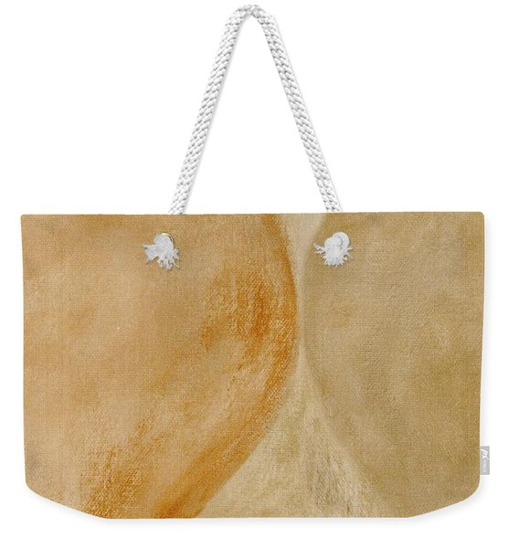 Weekender Tote Bag featuring the mixed media Ser.2 #10 by Writermore Arts