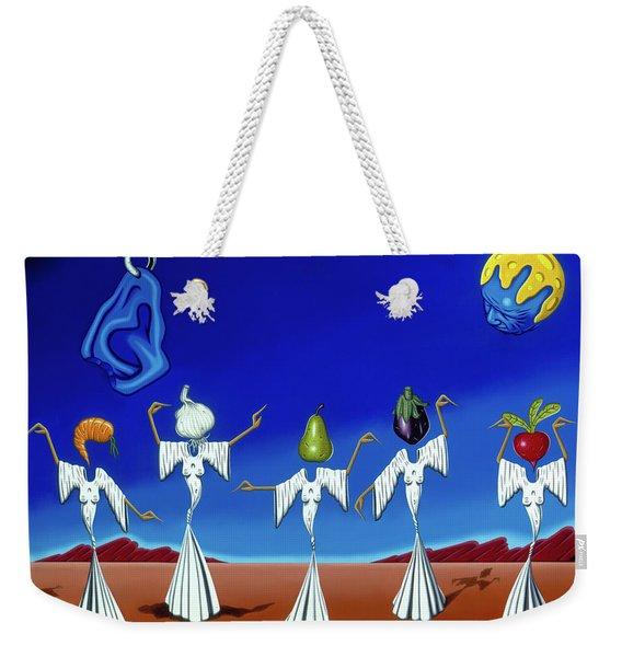 Serenade Of The Sisters Weekender Tote Bag