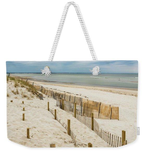 Serene Bay View Weekender Tote Bag
