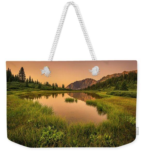Serene Lake Weekender Tote Bag