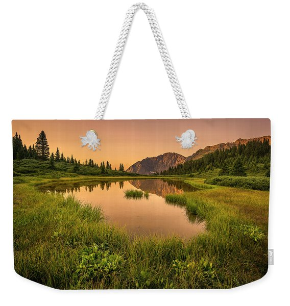Serene Lake Weekender Tote Bag