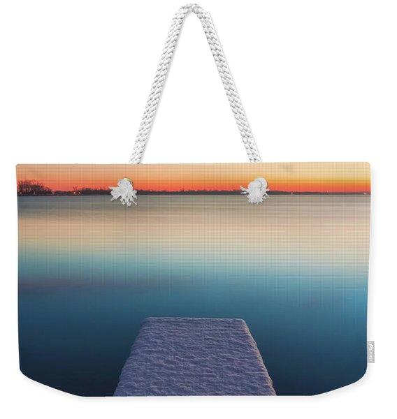 Serene Morning Weekender Tote Bag