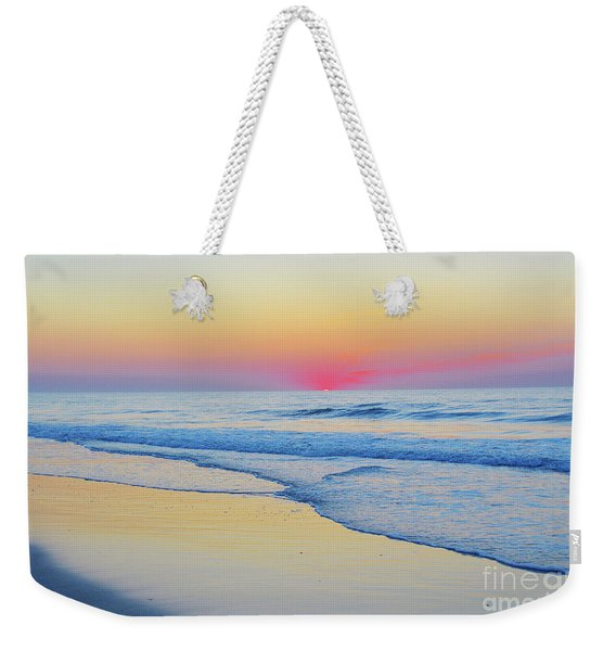 Serenity Beach Sunrise Weekender Tote Bag