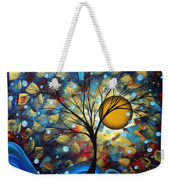 Serenity Falls By Madart Weekender Tote Bag