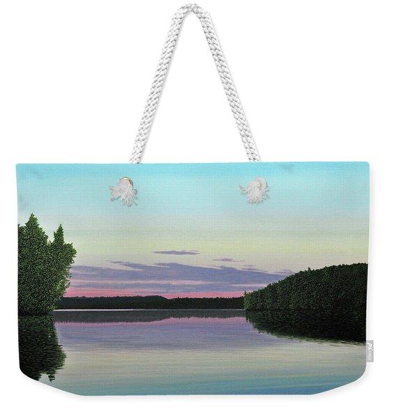 Serenity Skies Weekender Tote Bag