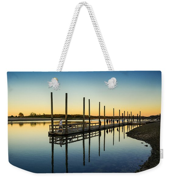 Serenity Sunset Kings Park New York Weekender Tote Bag