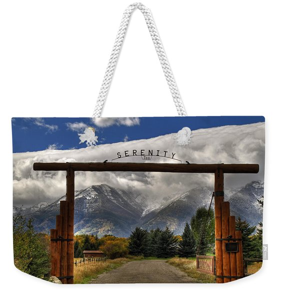 Serenity Too Weekender Tote Bag