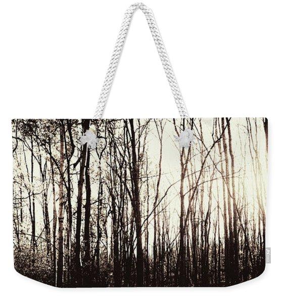 Series Silent Woods 3 Weekender Tote Bag