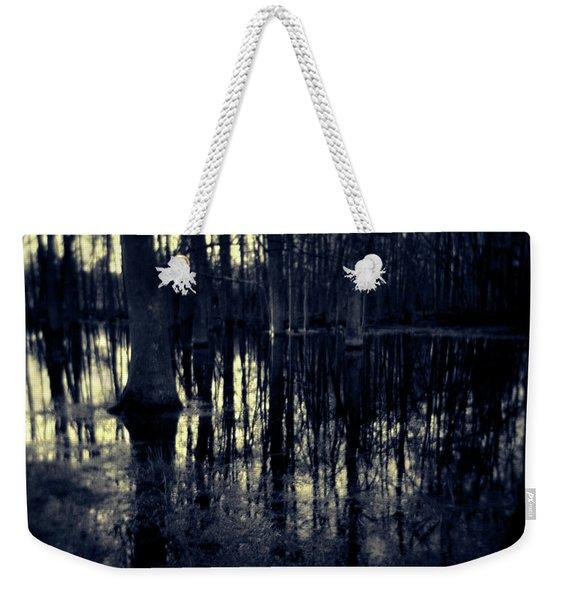 Series Wood And Water 4 Weekender Tote Bag