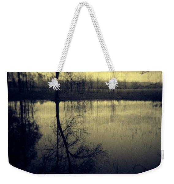 Series Wood And Water 5 Weekender Tote Bag