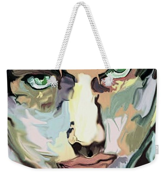 Serious Face Weekender Tote Bag
