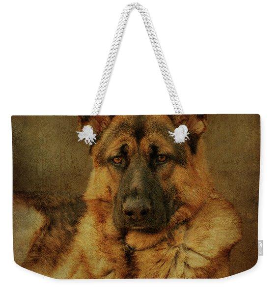 Serious Weekender Tote Bag