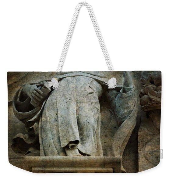 Sermon In Stone Weekender Tote Bag