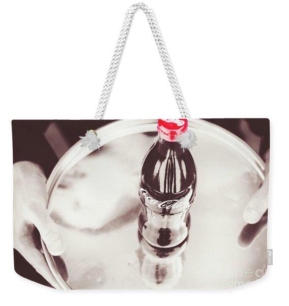 Service At The Soda Shop Weekender Tote Bag