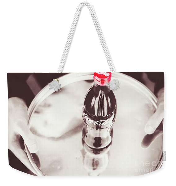 Service At The Soda Shop Weekender Tote Bag