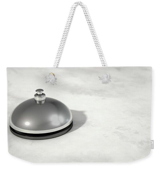 Service Bell Modern Weekender Tote Bag