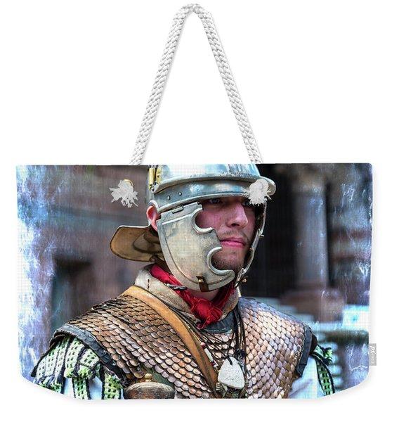 Serving The Emperor In Rome Weekender Tote Bag