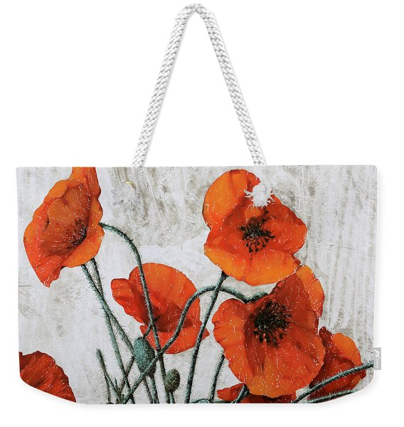 Sette Papaveri Weekender Tote Bag