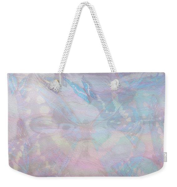 Seven Pearls Flutter By Weekender Tote Bag