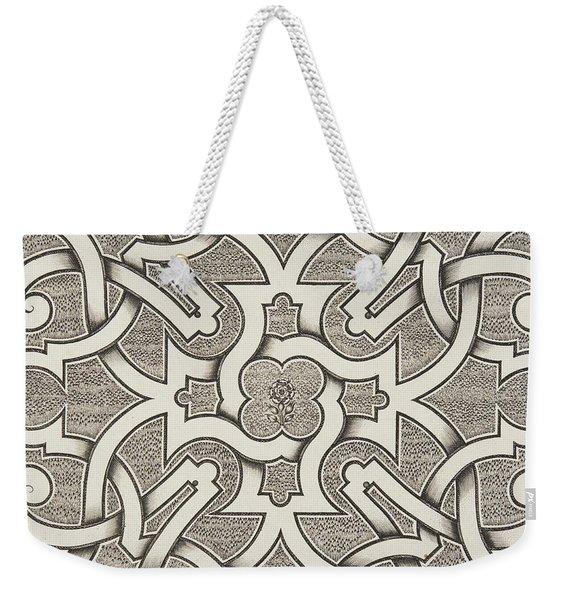 Seventeenth Century Design For Parterre Weekender Tote Bag