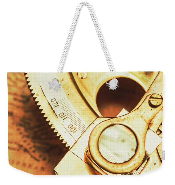 Sextant Sailing Navigation Tool Weekender Tote Bag