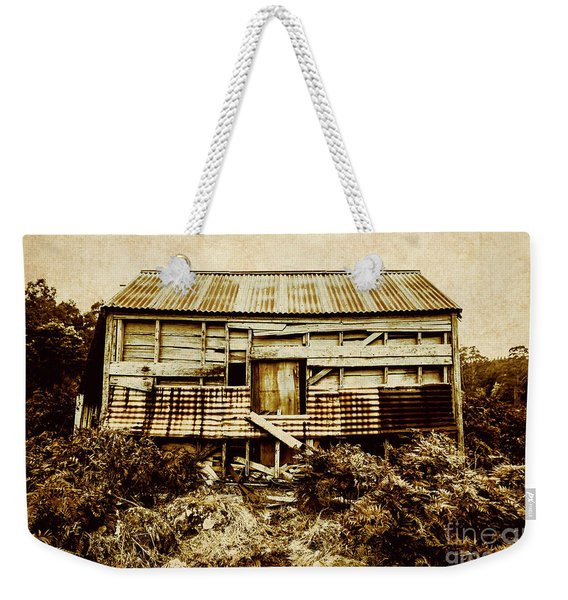 Shabby Country Cottage Weekender Tote Bag