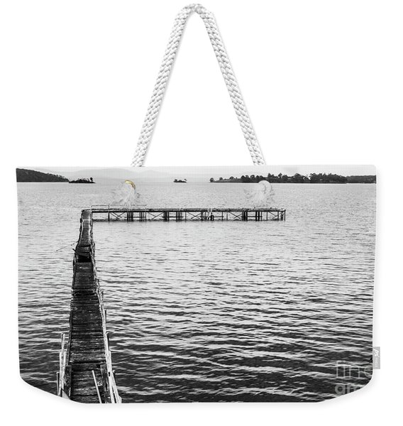 Shabby Nautical Style Weekender Tote Bag