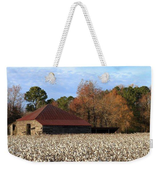 Shack In The Field Weekender Tote Bag