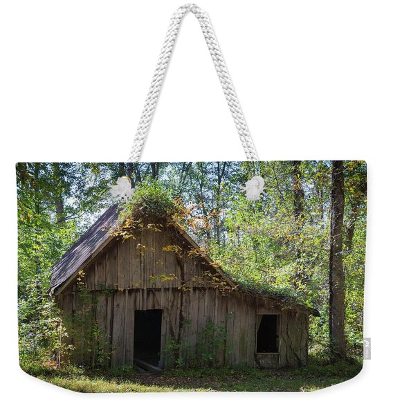 Shack In The Woods Weekender Tote Bag
