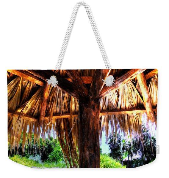 Shade On The Beach Weekender Tote Bag