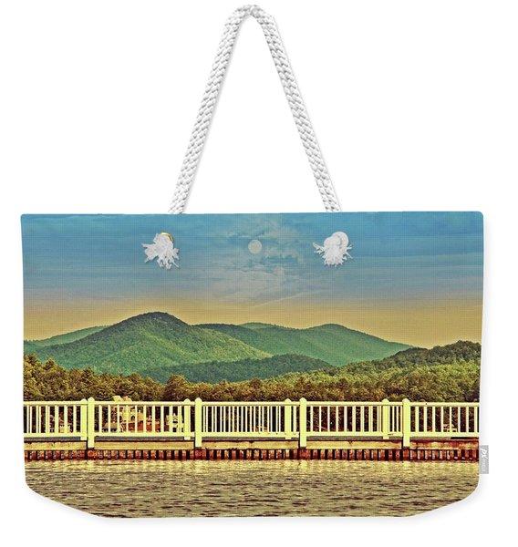 Shades Of Evening Weekender Tote Bag