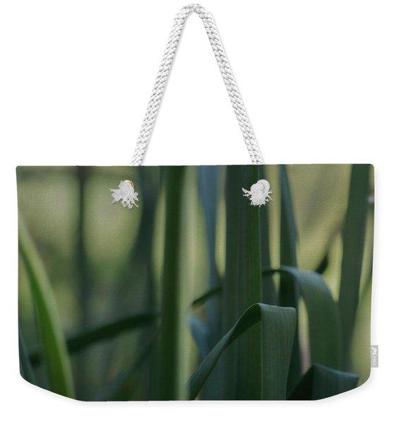 Shades Of Green Weekender Tote Bag
