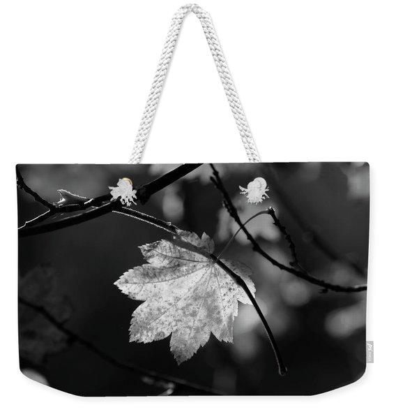 Shades Of Grey Weekender Tote Bag