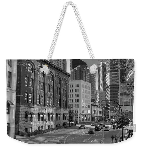 Shades Of The City Weekender Tote Bag