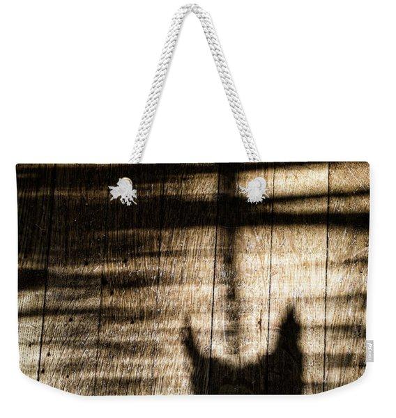 Shadow Cat Weekender Tote Bag
