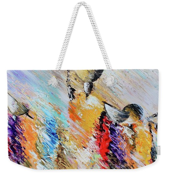 Shadow Community Weekender Tote Bag