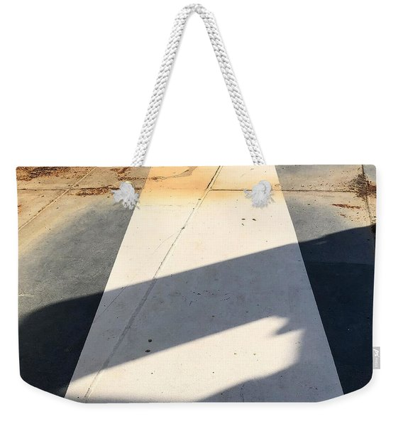 Shadow Lines Weekender Tote Bag