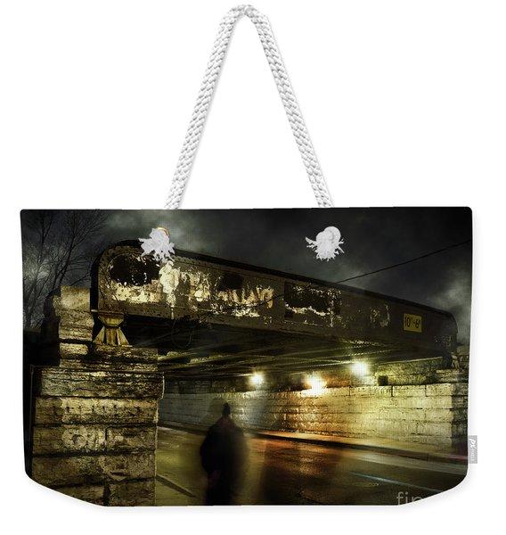Shadow Man Weekender Tote Bag