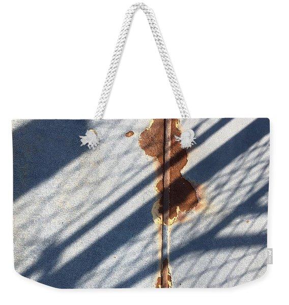 Shadow On Seam Weekender Tote Bag