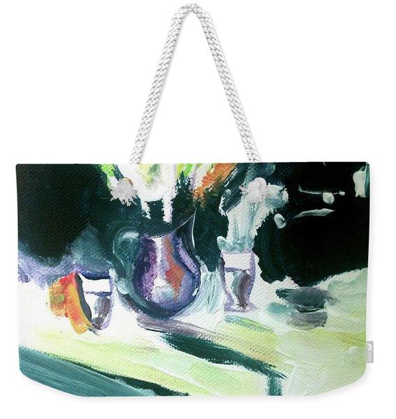 Shadow Stillness Weekender Tote Bag