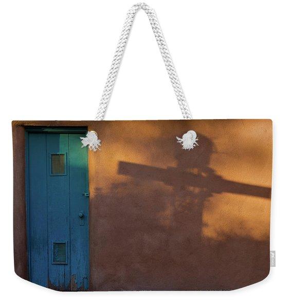 Shadows Adobe Wall Weekender Tote Bag