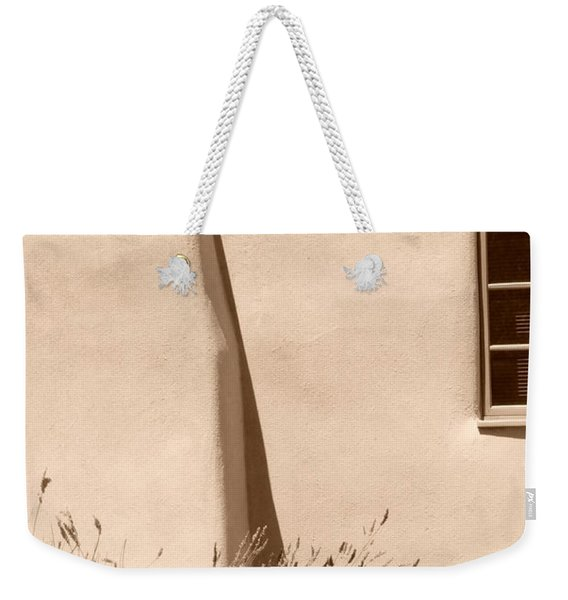 Shadows And Light In Santa Fe Weekender Tote Bag