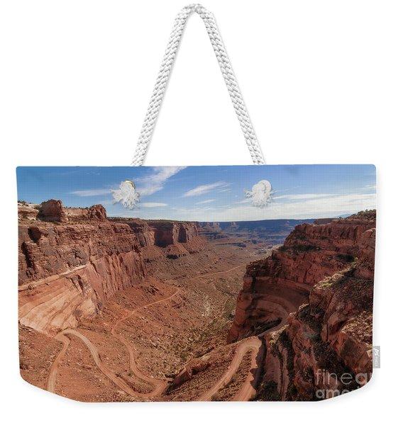 Shafer Canyon Road Weekender Tote Bag