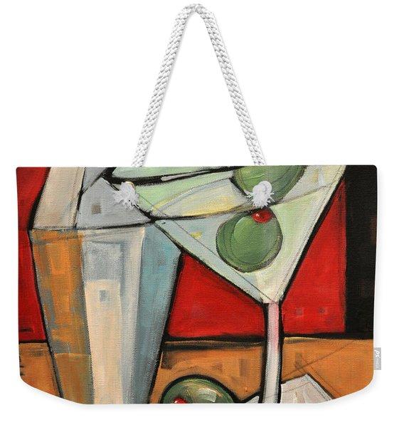 Shaken Not Stirred Weekender Tote Bag