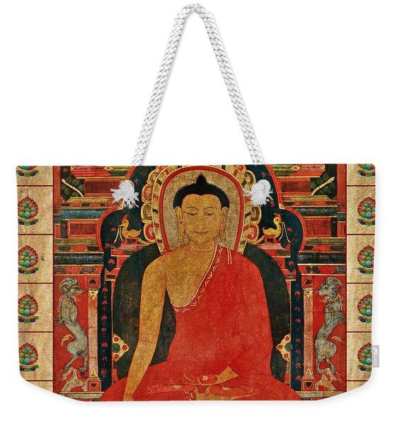 Shakyamuni Buddha Weekender Tote Bag