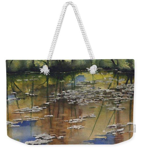 Shallow Water Weekender Tote Bag
